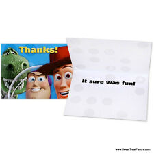 TOY STORY 3 Party Supplies THANK YOU NOTES Birthday Decoration Woody Buzz Favors