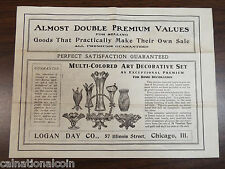 Logan Day Co. Catalog Household Items and Children's Toys Chicago. IL