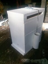 Empty triple storey native bee hive for splitting or log transfer. Hive lock inc