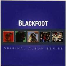 Blackfoot ORIGINAL ALBUM SERIES Box Set STRIKES Tomcattin' NEW SEALED 5 CD