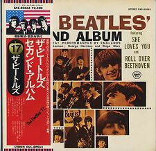 The Beatles - Second Album EAS JAPAN LP with OBI and INSERTS Gatefold Cover