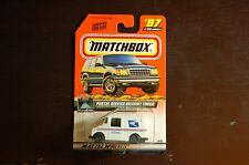 MATCHBOX POSTAL SERVICE DELIVERY TRUCK COLLECTOR # 97