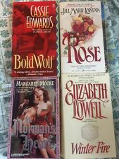 Lot of 4 Historical Romance paperback Books