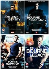 The Bourne 1-4 Complete Collection Identity, Supremacy, Ultimatum, Legacy Jason