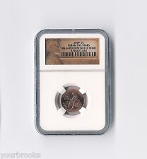 2009 P Lincoln Formative Years First Day Issue NGC Certified MS 66 RD Lp2 Cent