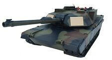 2.4Ghz 1/16 US M1A2 Abrams Airsoft Battle Tank w/Smoke & Sound RC RTR Camouflage
