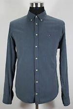 Men's TOMMY HILFIGER Casual Shirt, Size L Large, 100% Cotton,Long Sleeves #KM608
