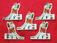 1950'S DETROIT RED WINGS MUNRO TABLE HOCKEY GAME PLAYERS
