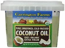 Carrington Farms 100% Organic Extra Virgin Coconut Oil, 12 Ounce Gluten-Free