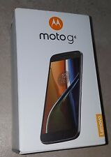 Unlocked Moto G (4th Generation) 32gb, Black - w/ Lockscreen Offers & Ads - New!