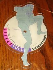 JETHRO TULL SHAPED PICTURE DISC SAID SHE WAS A DANCER / DOGS IN THE MID WINTER