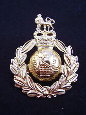 ROYAL MARINES/SBS COMMANDO NO1 Dress Staybright Metal Military Cap/Beret Badge