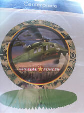 Special Forces Centerpiece Decorations Army
