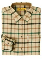 Verney-Carron Khaki Green & Brown Checked Shirt, Shooting, Hunting 2XL