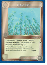 MIDDLE EARTH BLUE BORDER PREMIER RARE CARD CLEAR SKIES