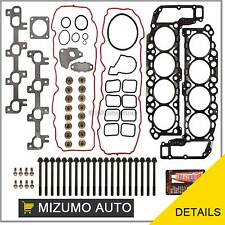 Head Gasket Set Head Bolts Fits 99-03 Dodge Dakota Jeep Grand Cherokee 4.7L