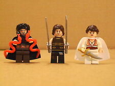 NEW! Lot of 3 Lego Prince of Perssia Minifigs Mini Figs w/ Accessories