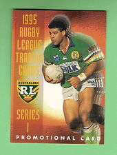 RUGBY LEAGUE PROMOTIONAL CARD -  1995 SERIES 1,  DYNAMIC MARKETING, MAL MENINGA
