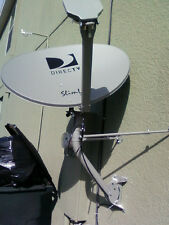 NEW DIRECTV HD HIDEF KAKU 3 SINGLE LINE SWiM SWM3 SATELLITE DISH WITH POWER