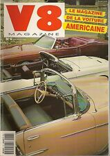 V8 MAGAZINE 6 CADILLAC COUPE DE VILLE 62 CHRYSLER NEW YORKER CONVERTIBLE 47