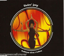 LIVIN' JOY - Follow The Rules (UK 6 Track CD Single)
