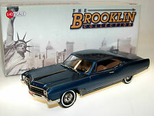 BROOKLIN BRK 215, 1967 buick wildcat 2-Door rigide sport coupé, Blue, 1/43