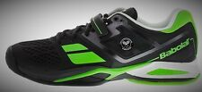 Babolat Propulse Wimbledon Black Men Tennis Shoes NEW 9.5us (Free Babolat socks)