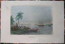 1839 Meyer print CALCUTTA KOLKATA, INDIA (#44)