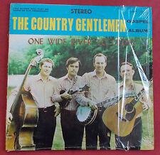 THE COUNTRY GENTLEMEN LP ORIG US ONE WIDE RIVER TO CROSS   REBEL
