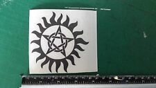 Pentagram Spooky Car/Bike/Window/Wall/Laptop magic Vinyl Decal Sticker Pentacle