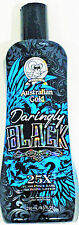 2016 Australian Gold Daringly Black 25x dark bronzing tanning indoor bed lotion