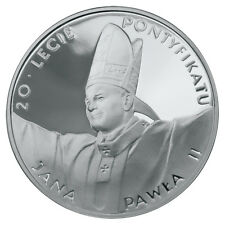 Poland / Polen - 10zl 20th anniversary of John Paul's II pontificate