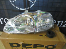 Honda Civic 96-98 4 Door Left Hand NS Headlight Part No 217-1120L-RD-E