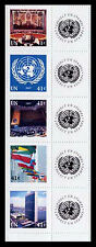 United Nations UN S17 New York 41c #934-938 2007 Personalized Stamps Strip of 5