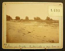 Photo vers 1900 ou avant  Sion-sur-l'Océan Sion-sur-Mer Photographie ancienne