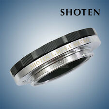 Limited Edition SHOTEN helicoid adapter for Leica M mount to Sony A7II Black