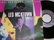 "7"" - Les McKeown Love hurts and love heals & instrumental - 1989 # 4109"