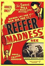 ~~ REEFER MADNESS 24X36 POSTER ~~