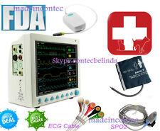 FDA ETCO2 ICUPatient Monitor,Multi-Parameters Minitor SPO2 ECG NIBP RESP TEMP US