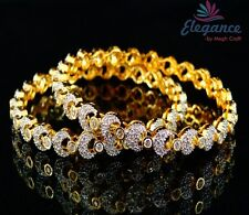 Bollywood Style American diamond bangle-Party wear CZ bangle-Indian CZ bangle