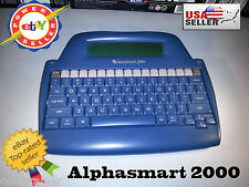 ¤ AlphaSmart 2000 ¤ Portable Word Processor ¤ Tested and Working ¤ Mac & PC ¤