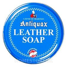 ANTIQUAX LEATHER SOAP CLEAN AND PRESERVE HORSE SADDLE CLEANER SEAT WAX 100ML