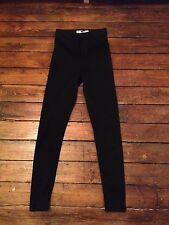 Moto Topshop Joni Skinny Jeans  Black High Waist Size 12 W30 To fit L34 Yc55