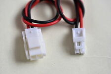 2 Pin/way male&female Connector Type YL-2P with 2X15cm cable