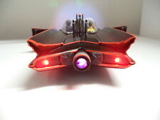 "1966 Batmobile 1/18 Movie Car Batman Robin Figure LED LIGHTS Batman"" vIntaGe uT"