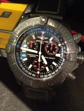 Breitling Avenger Sea Wolf Chronograph Limited Edition New Black M73390 Quartz