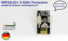 NRF24L01+ 2.4GHz Wireless RF Transceiver Neu für Arduino Raspberry Pi Datenfunk
