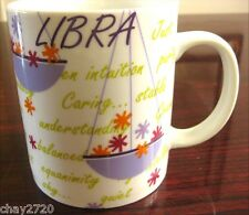 "PRE-OWNED PORCELAIN MUG ""LIBRA"" BY HOME"