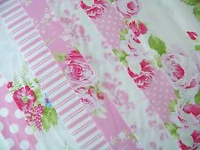 7 Fat Quarters Bundle Tanya Whelan SADIE'S DANCE CARD in Pink ~ 1.75 yards total