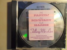 Dolly Parton, Linda Ronstadt, Emmylou Harris/Telling me lies US - Promo 1987/CD